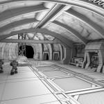 Desert Mine Tunnel - Spring 2012, Concept by: Hi-Rez Studios, ZBrush, Maya